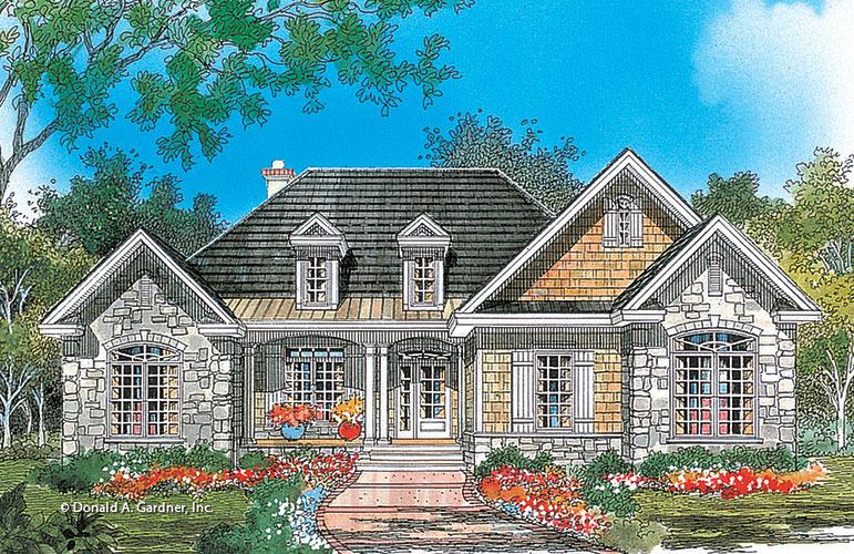 House plan the edinburgh by donald a gardner architects for Donald a gardner architects