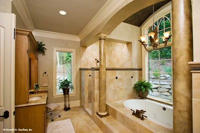 Master Bathroom House Plan