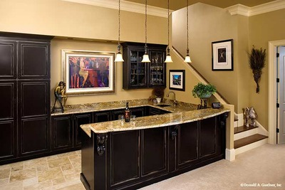 Wet Bar House Plan