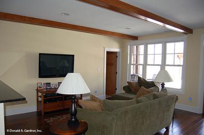 Entertainment Room House Plan