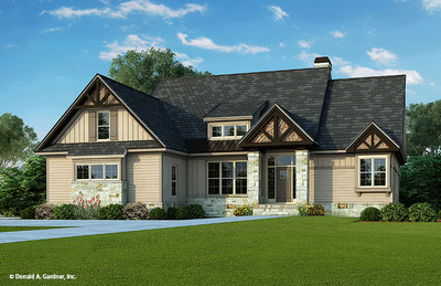House Plan The Foxford