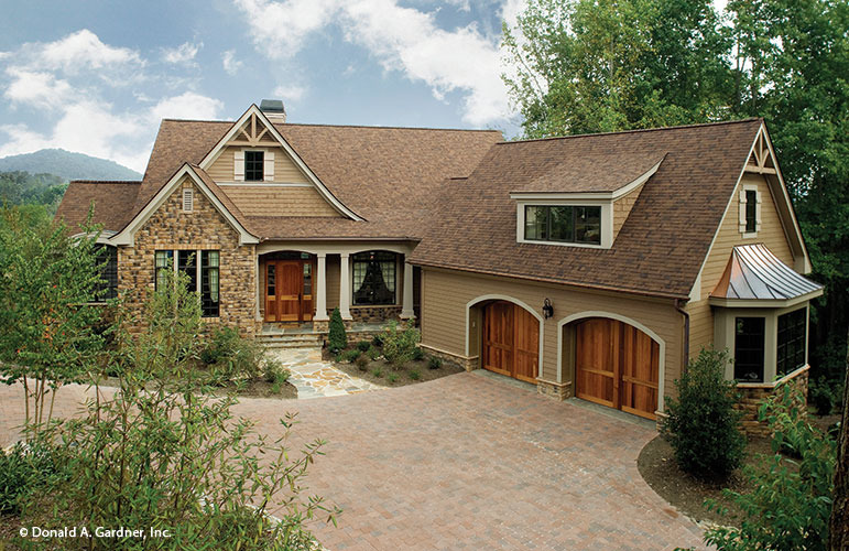 Home plan the solstice springs by donald a gardner architects for 2500 sq ft house plans with walkout basement