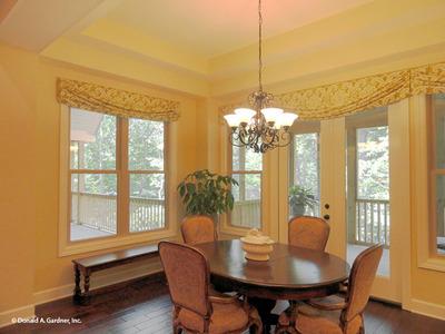 Breakfast Room House Plan