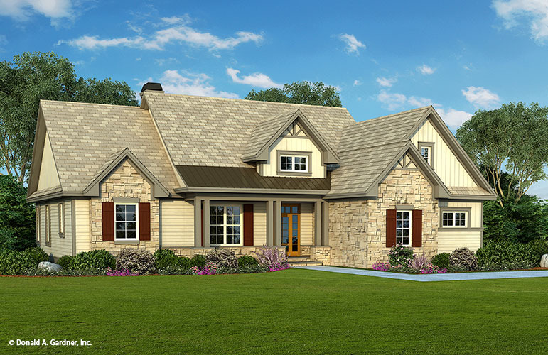 Home Plan The Cloverbrook By Donald A Gardner Architects