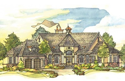 House Plan The Iverness Manor