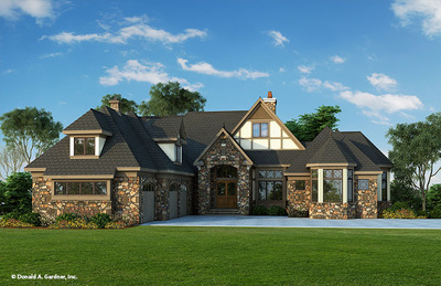 House Plan The Monarch Manor