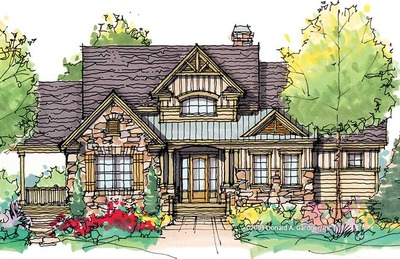 House Plan The Stone Ridge