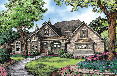House Plan The Markham