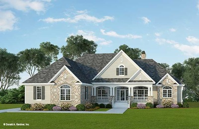 Front Color House Plan