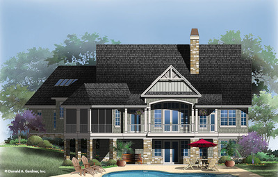 House Plan The Butler Ridge By Donald A Gardner Architects