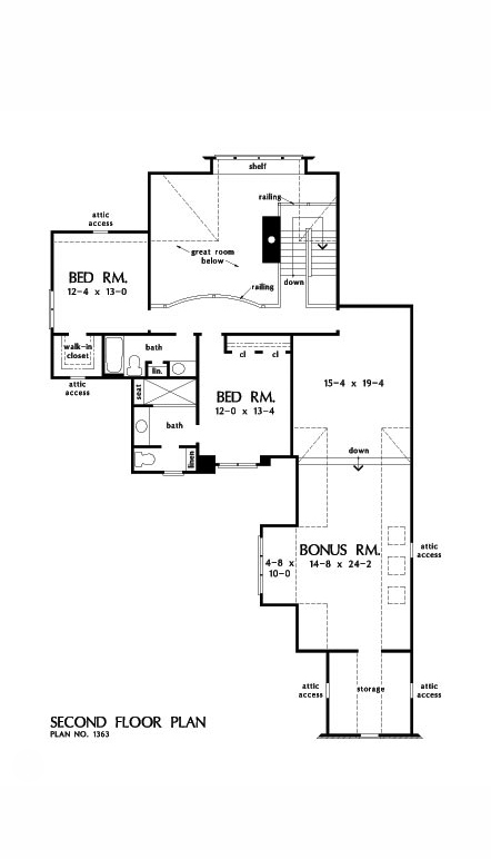 Home Plan The Charlotte Donald Gardner Architects