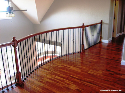 Balcony Loft House Plan