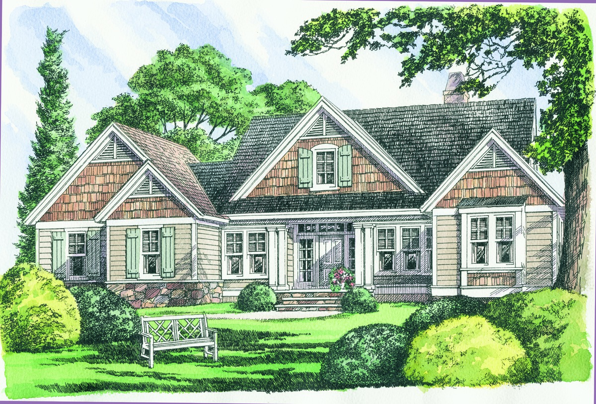 Default Image of The Colridge - House Plan Number 1012-D