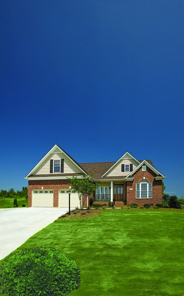 Front Exterior of The Nicholson Traditional House Plan 1021