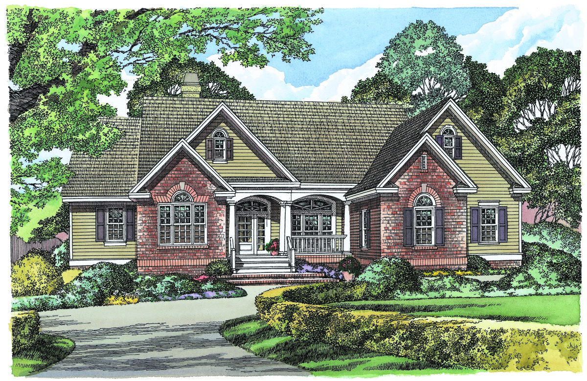 Default Image of The East Haven - House Plan Number 1049