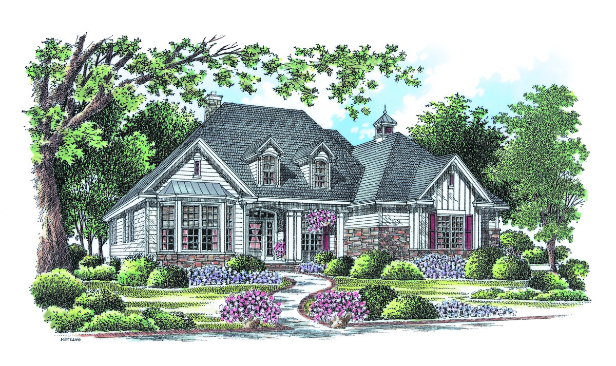 The Weatherford - House Plan 1053