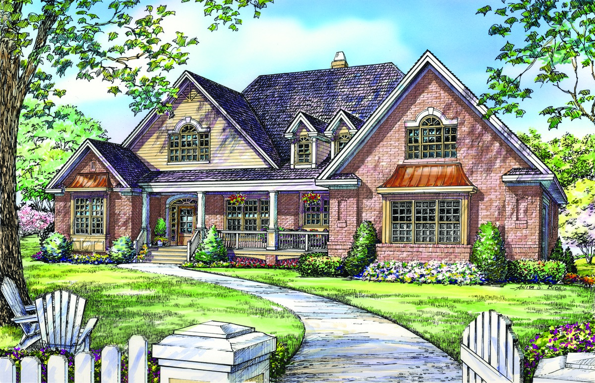 The clarkson house plan images see photos of don gardner for Donald a gardner home designs