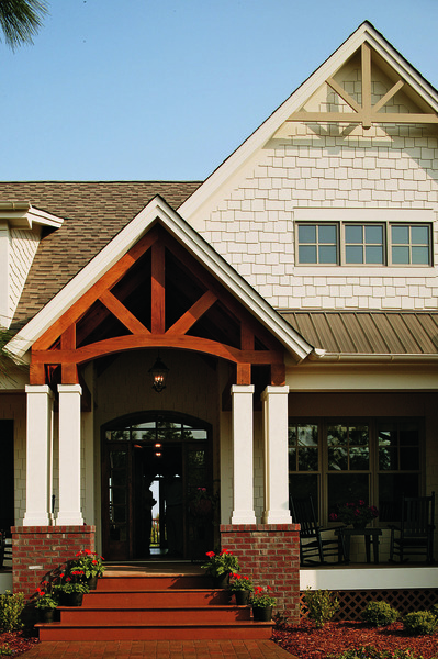 Award-Winning Craftsman Country Home Plan - The Cedar Ridge #1125-D