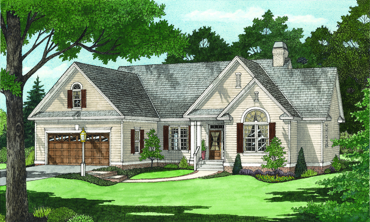 The Foxcroft House Plan Details By Donald A Gardner
