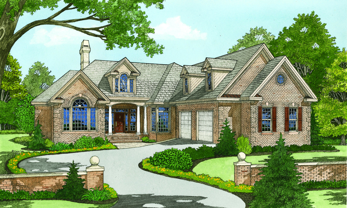 The birchmere house plan details by donald a gardner for Don gardner house plans