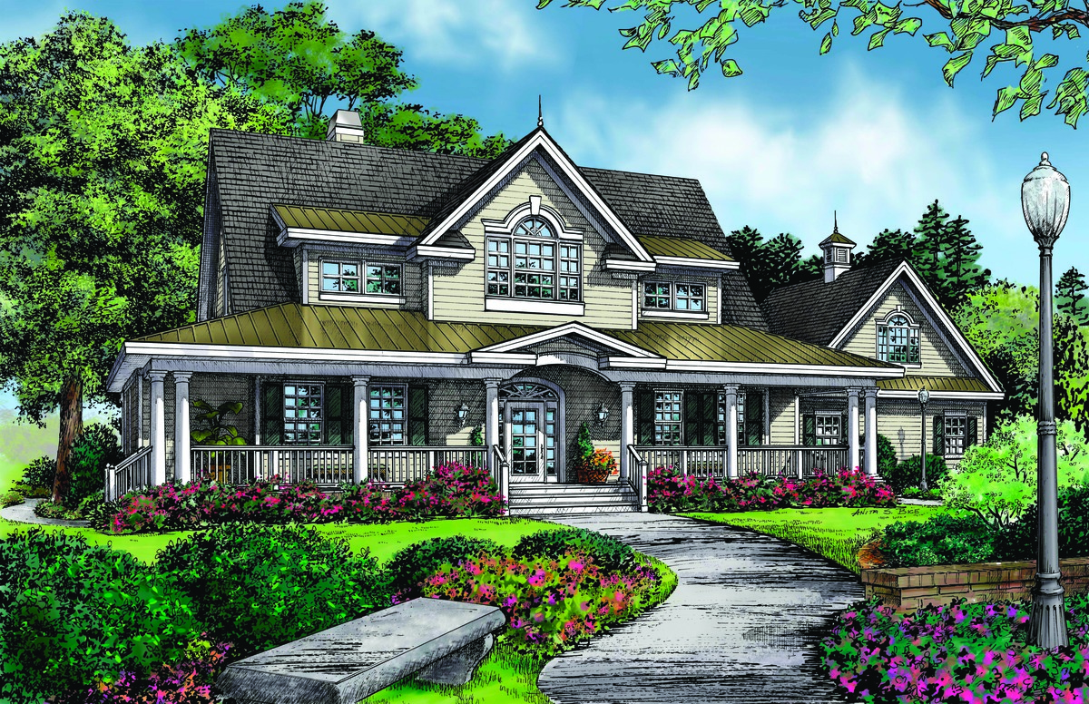 country house plans wrap around porch house design and