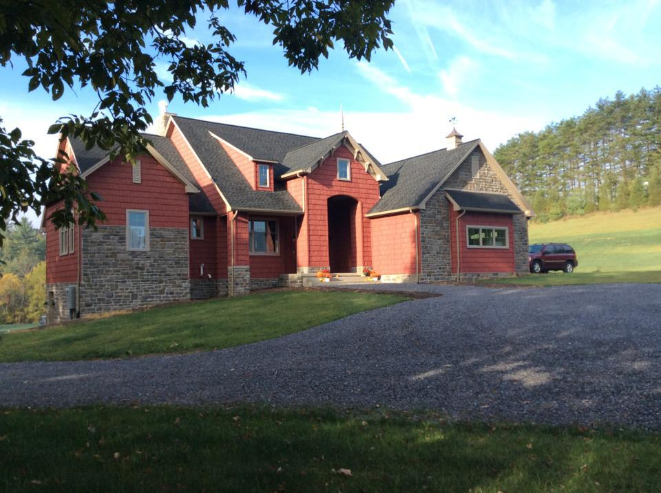 Rustic Style Meets Modern Living: The Genova - House Plan Number 1191-D