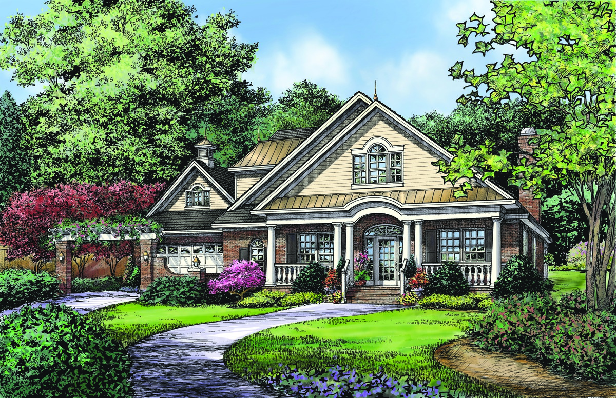 The Suwanee House Plan Details By Donald A Gardner Architects