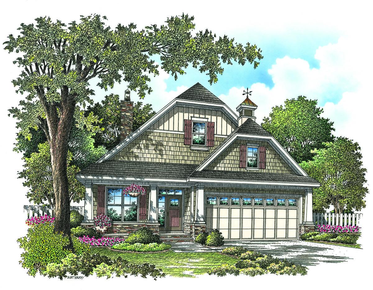 The Willamette - House Plan #1203