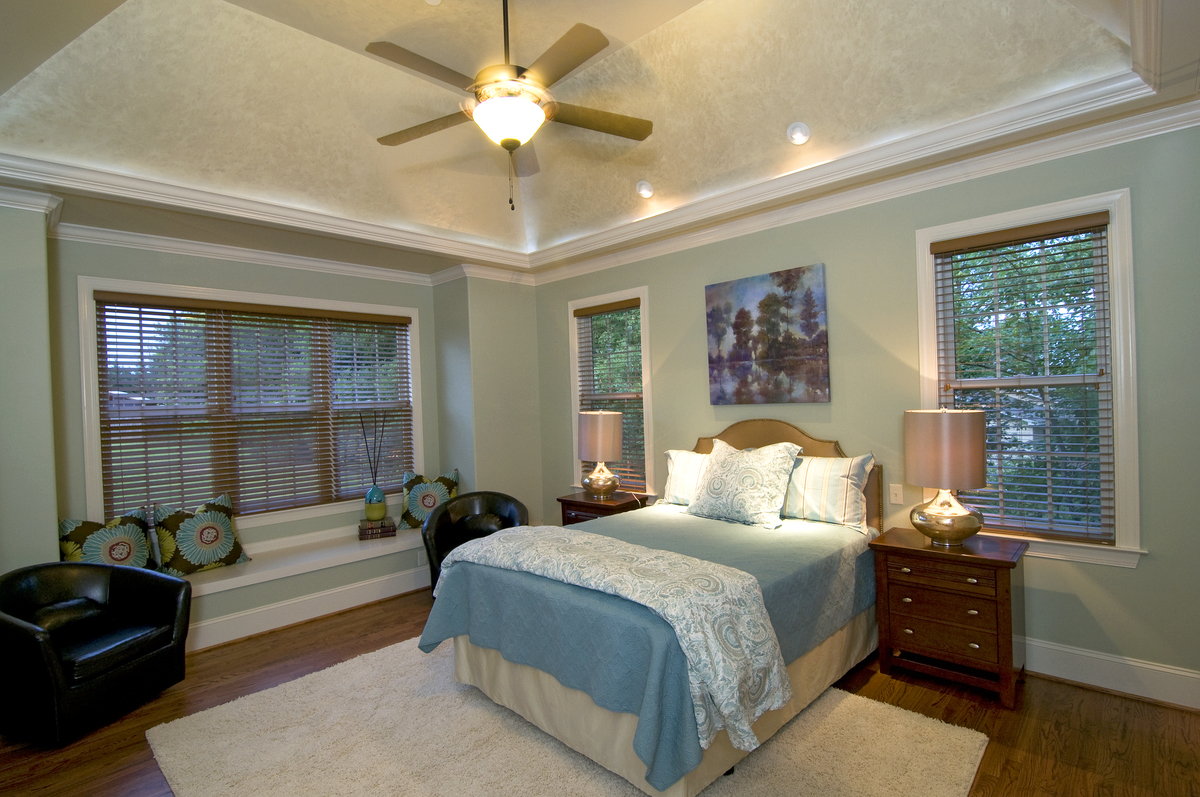 Master Bedroom of The Rochelle - Plan #1204