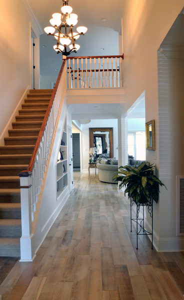 Foyer of the Merrill - House Plan Number 1209