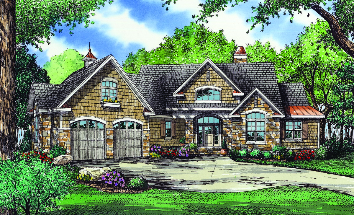 The Hartwell - House Plan with large porches 1221