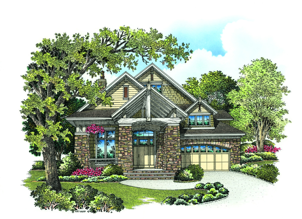 The Bainbridge - Bungalow Home Plan 1230