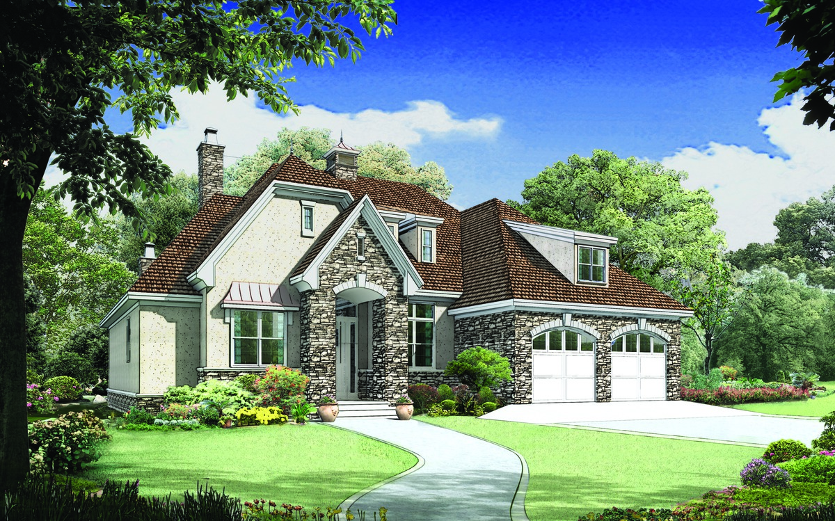 European french style home plans house blueprint designs for French european house plans