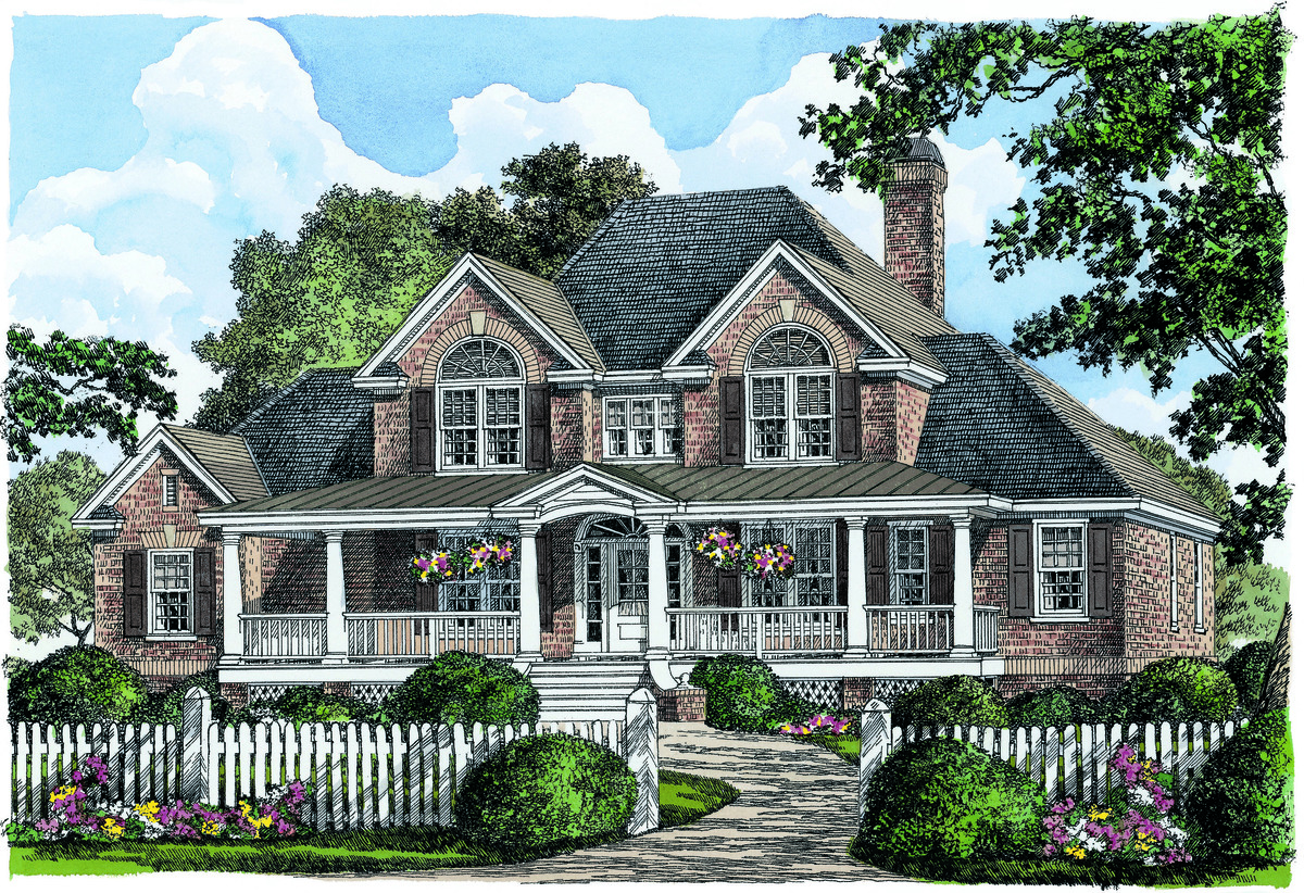 The Eastlake - House Plan 1256