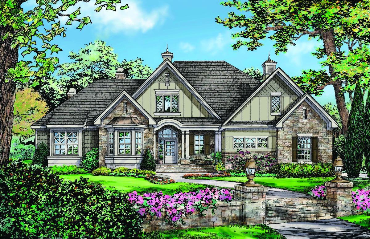 The Peyton - House Plan #1289