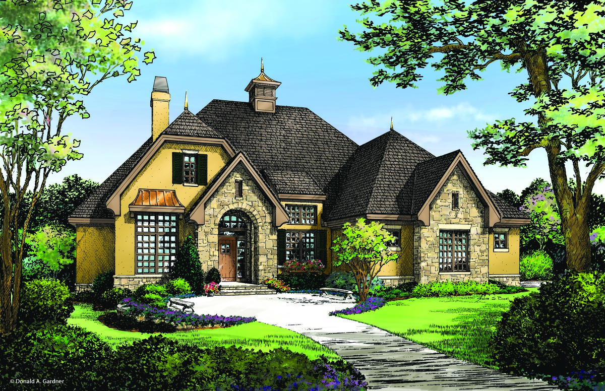 The Foxglove - House Plan Number 1297