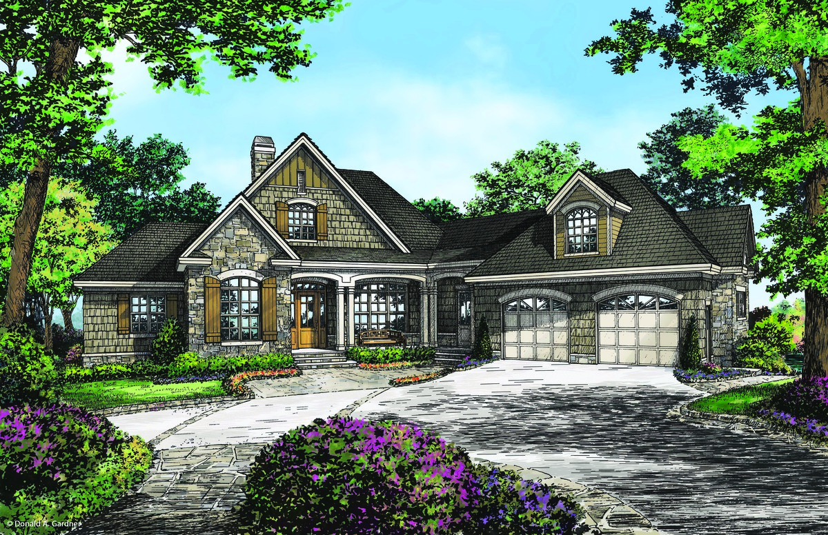 Craftsman walkout offers family friendly design for Craftsman floor plans with basement