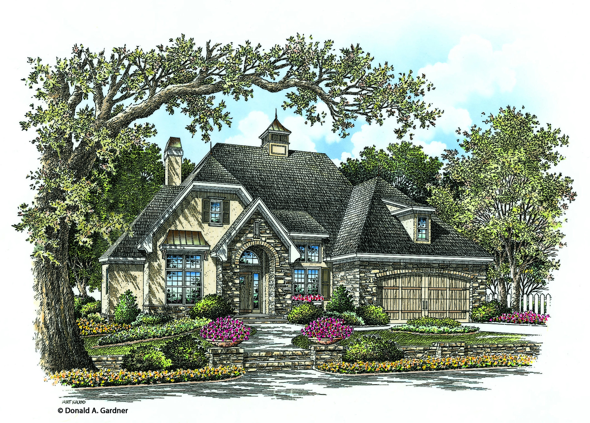 The Lucerne - Cottage House Plan #1319