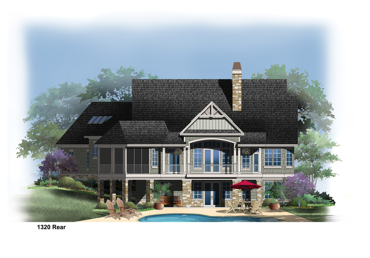 The Butler Ridge - House Plan 1320-D