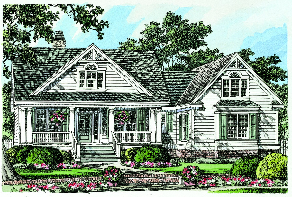 The Coleraine - Split Bedroom Home Plan 1335