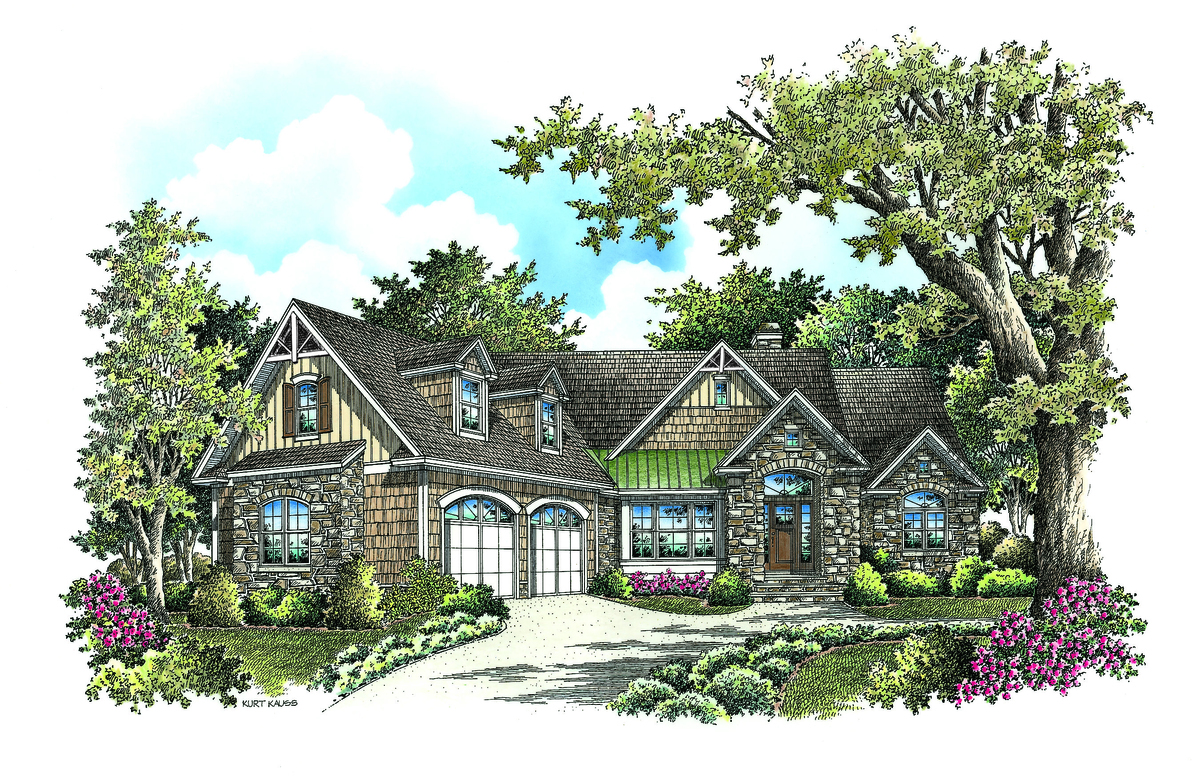 The Bantry - 2 Story House Plan 1336