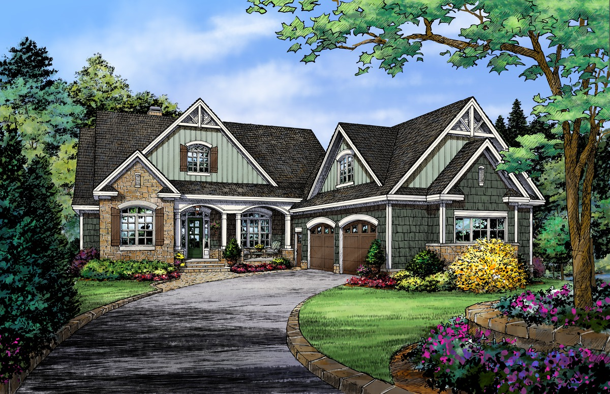 NOW AVAILABLE: The Mosscliff - House Plan 1338-D