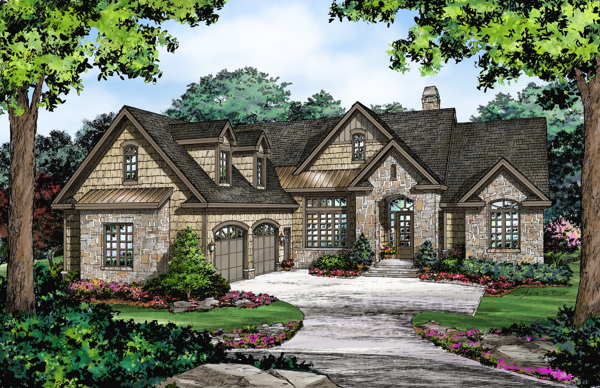 Now Available The Stonemason House Plan 1339