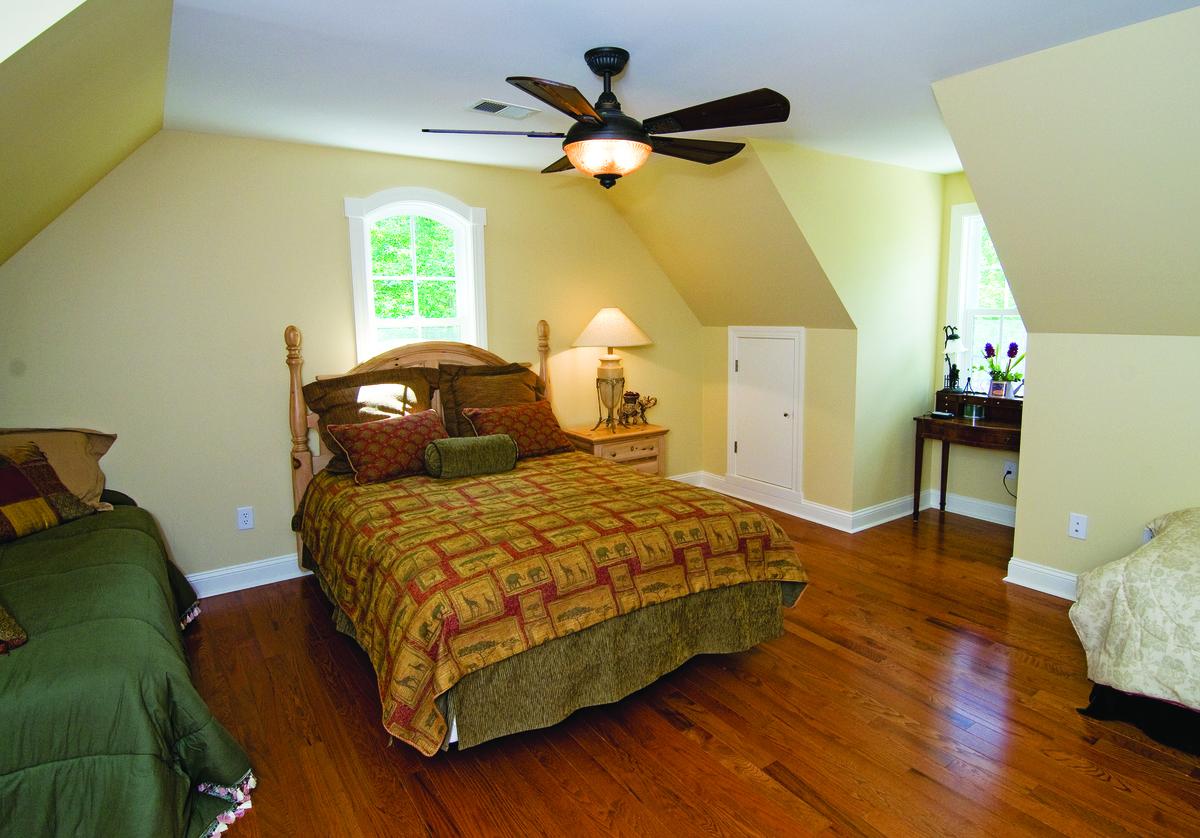 Bonus Room of The Rowan - House Plan Number 1366