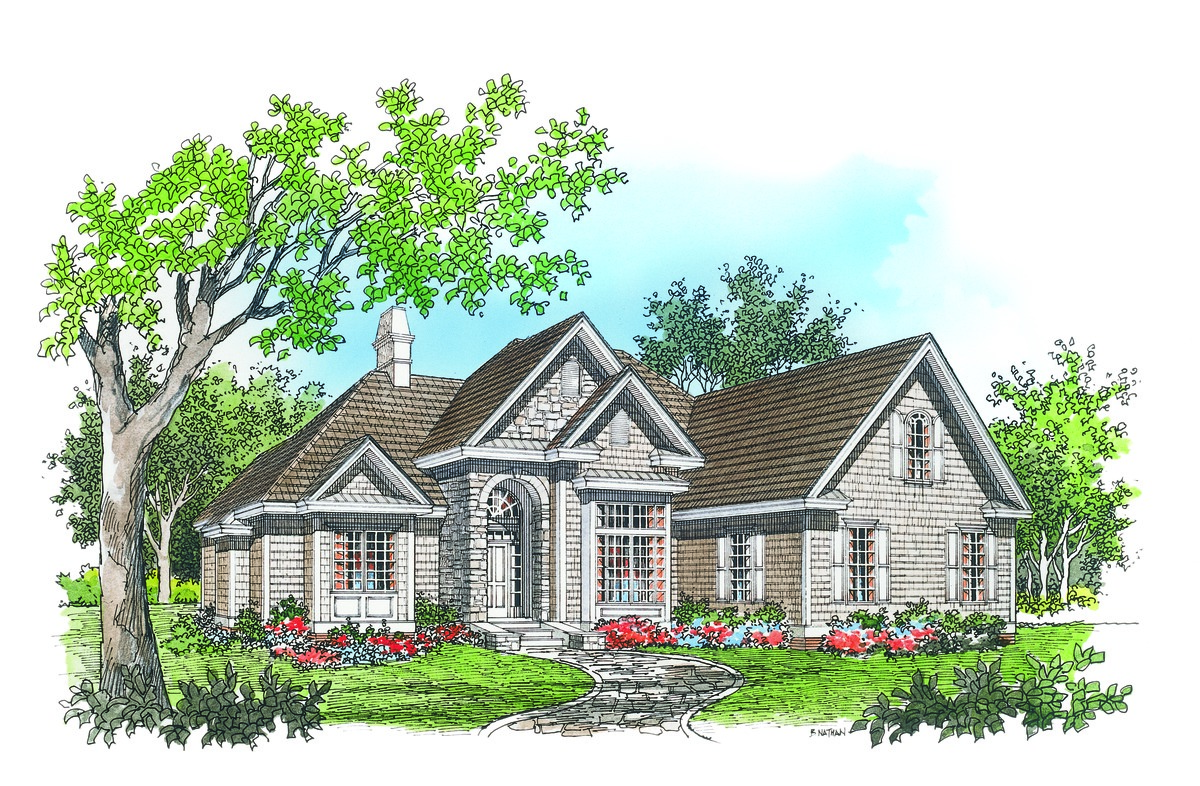 The bluffton house plan details by donald a gardner for Donald a gardner architects
