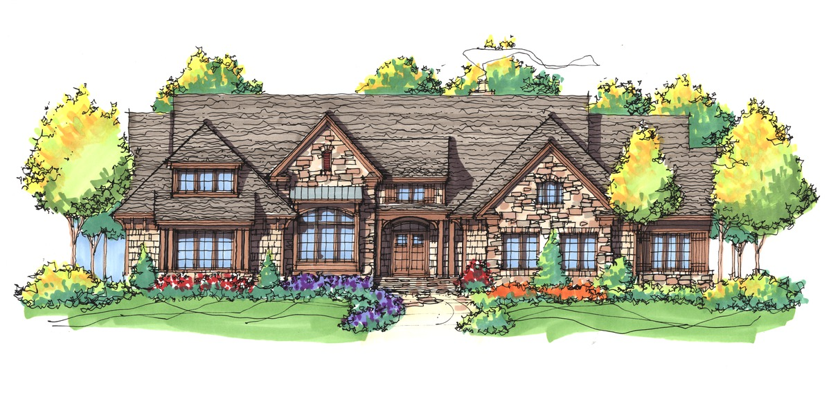 The Hickory Place - House Plan #5001