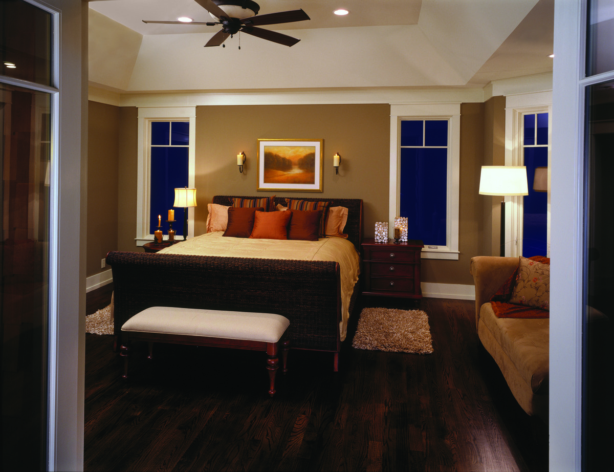 Master Bedroom Lighting, featuring The Dogwood Ridge - House Plan 5005