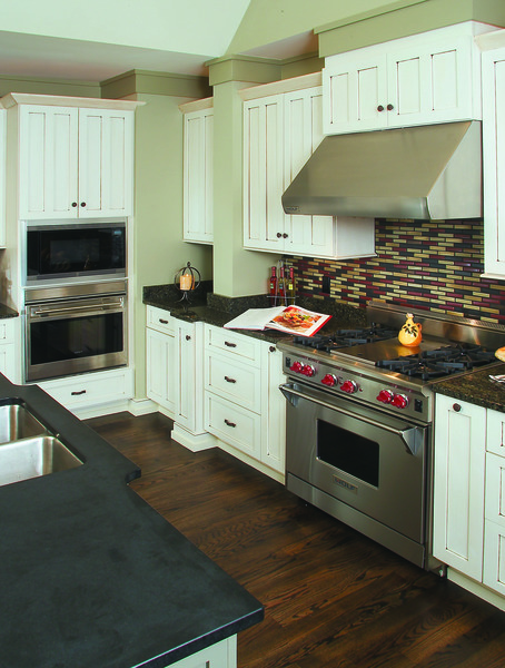 Repetitive Patterns in the Kitchen of The Dogwood Ridge Plan 5005