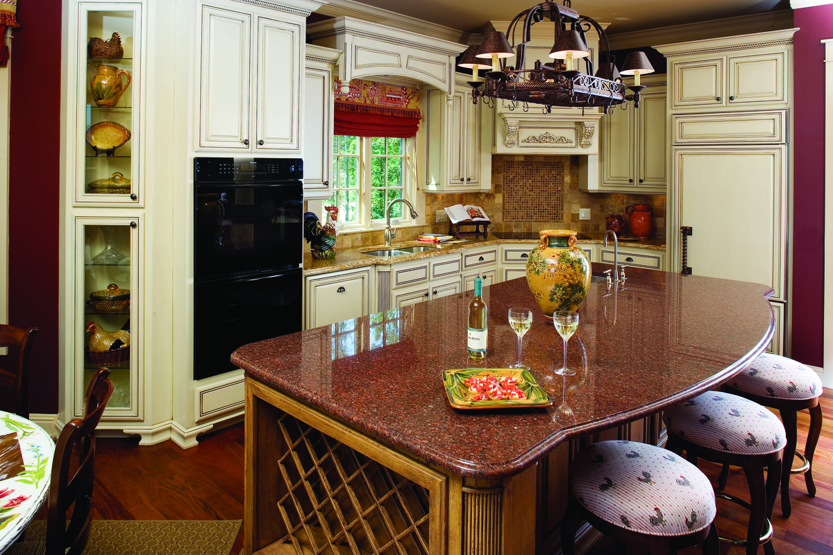 Kitchen of The Solstice Springs Plan 5011: Heart of the home