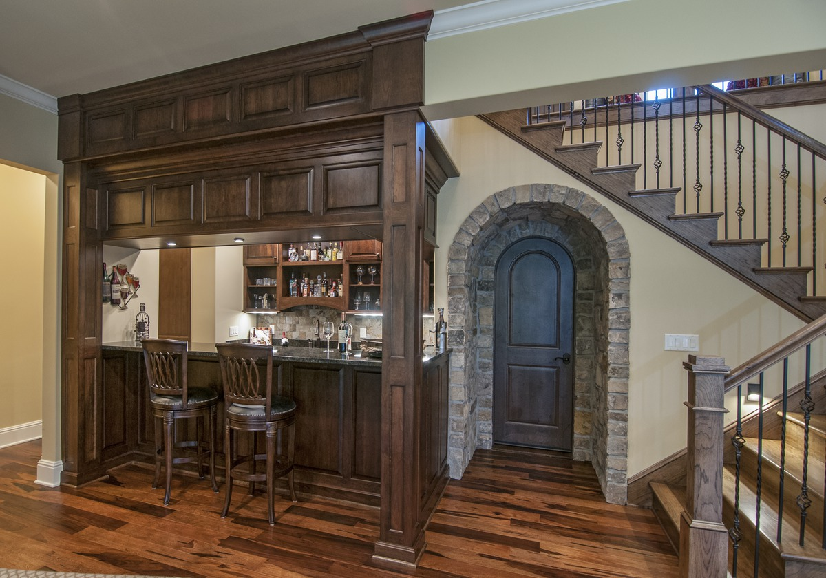 Wet Bar of The Jasper Hill - House Plan 5020